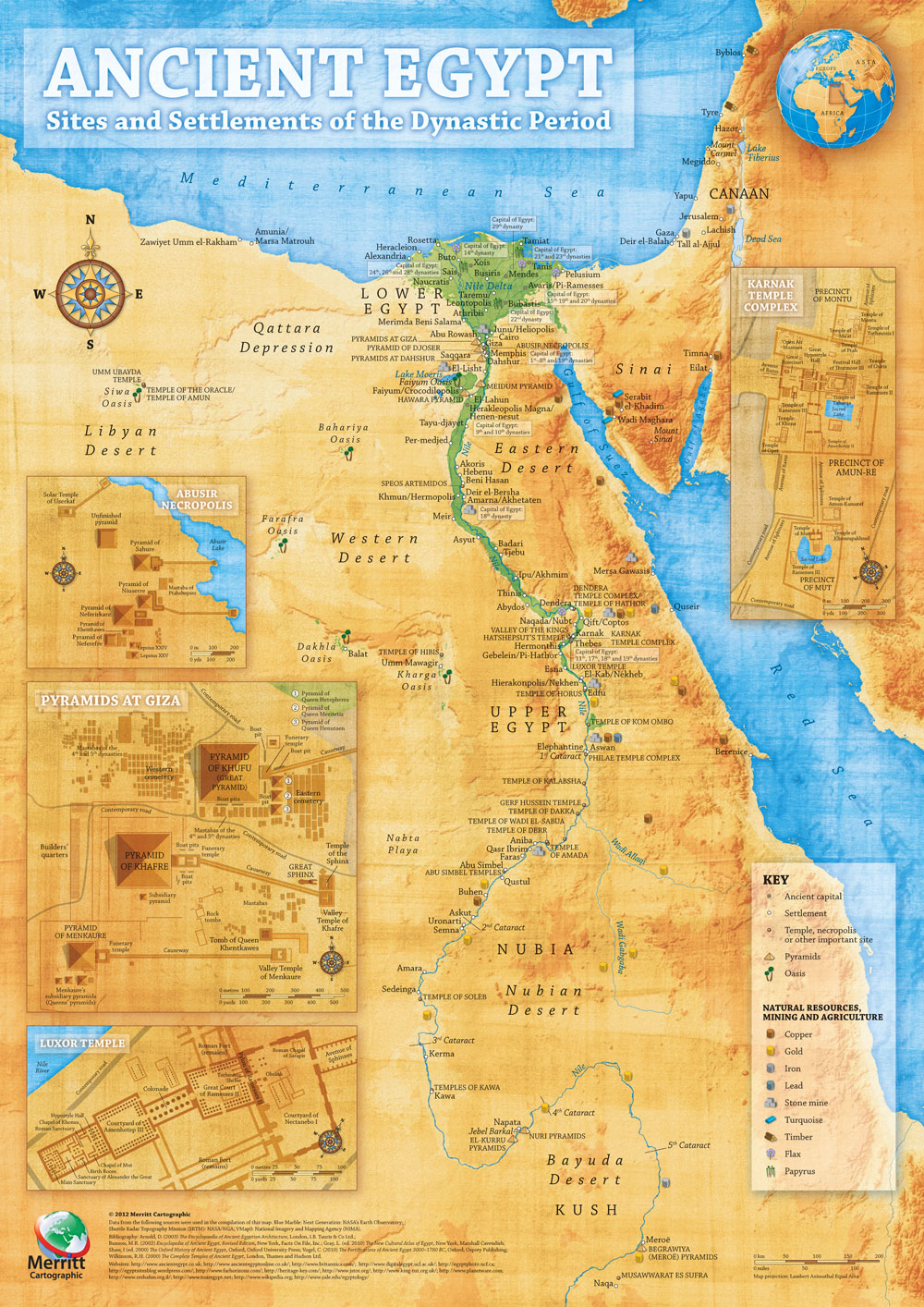 egypt  map collection - ancient egypt