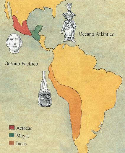 Aztec Mayan and Inca empires