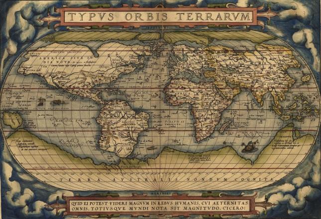World Atlas by Ortelius 1570