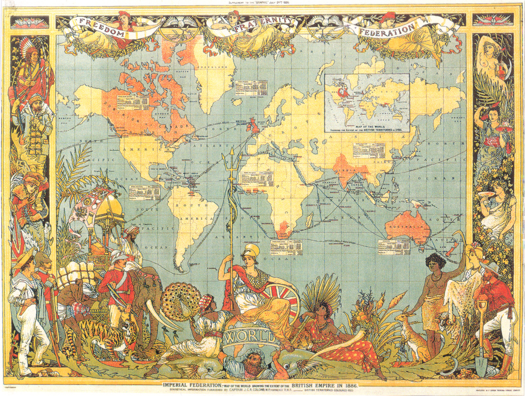 The british empire map collection the british empire freerunsca Image collections