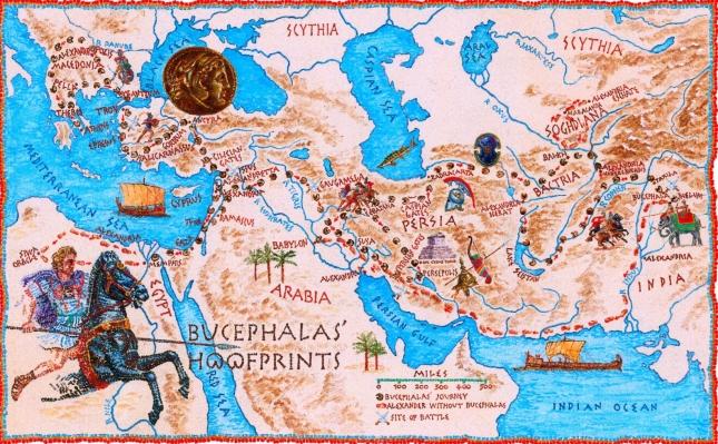 Macedonian Empire: Bucephalas' great journey