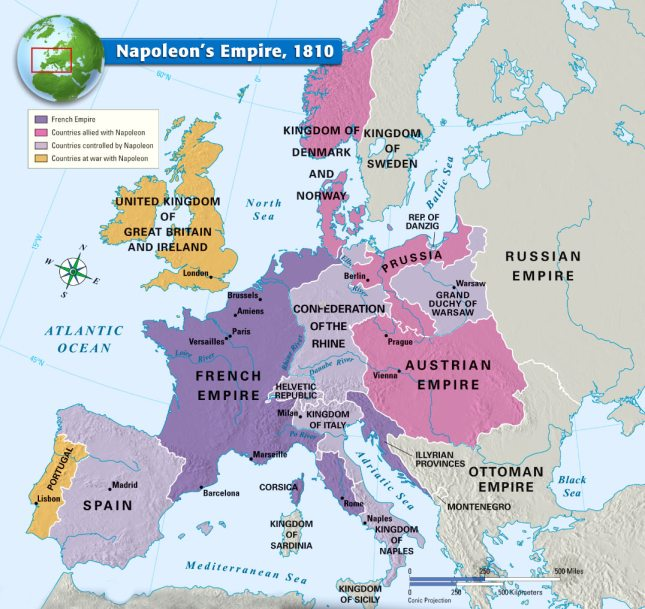 Napoleon's Empire,1810