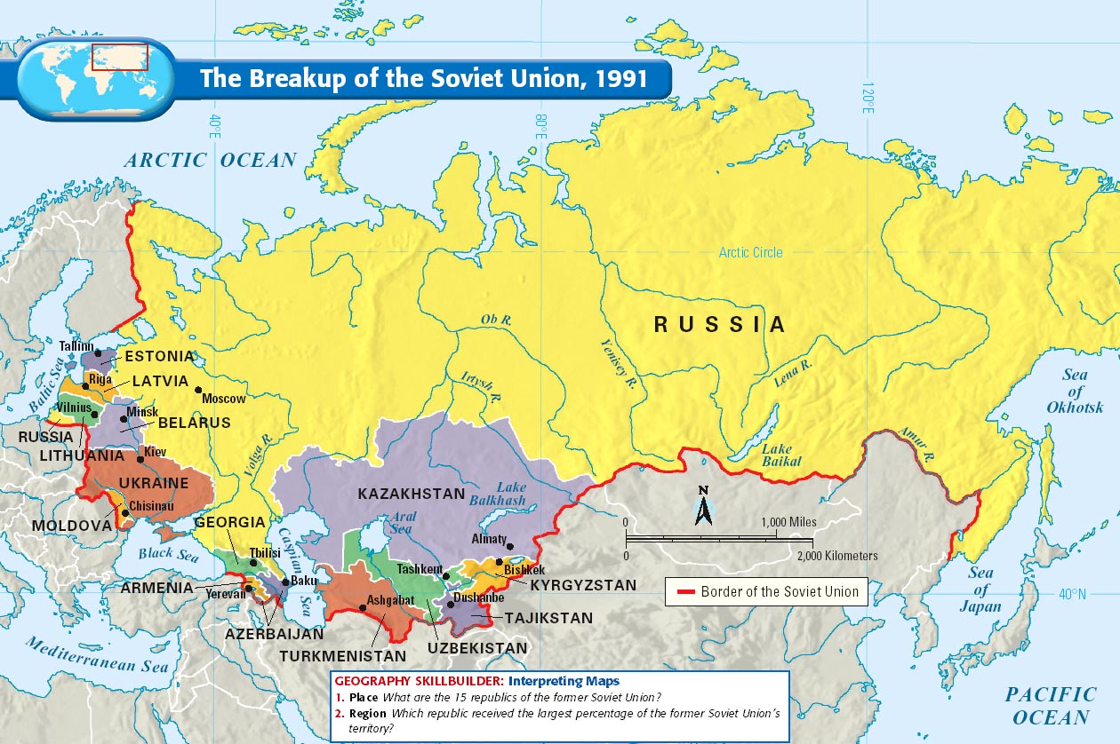 The breakup of the soviet union map collection gumiabroncs Gallery
