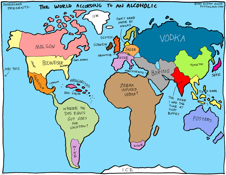 Satirical Map Collection