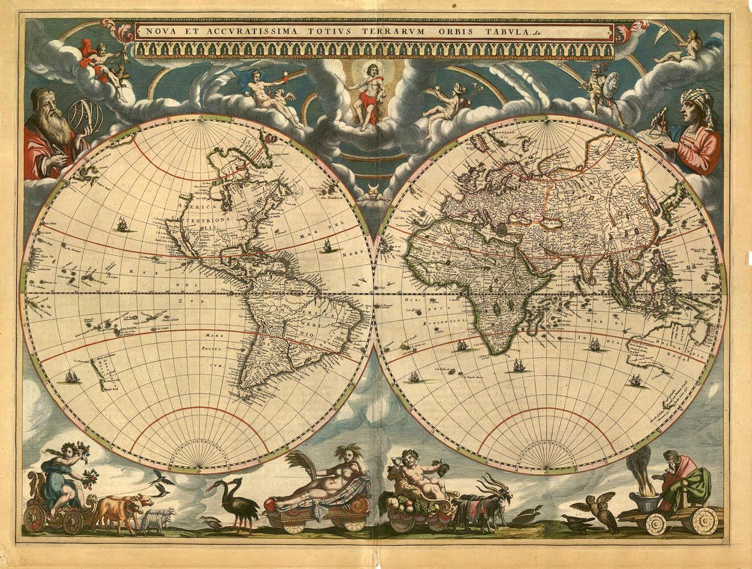 World Atlas 1664  Map Collection