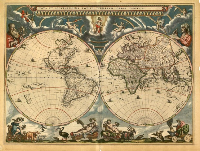 World Atlas, 1600