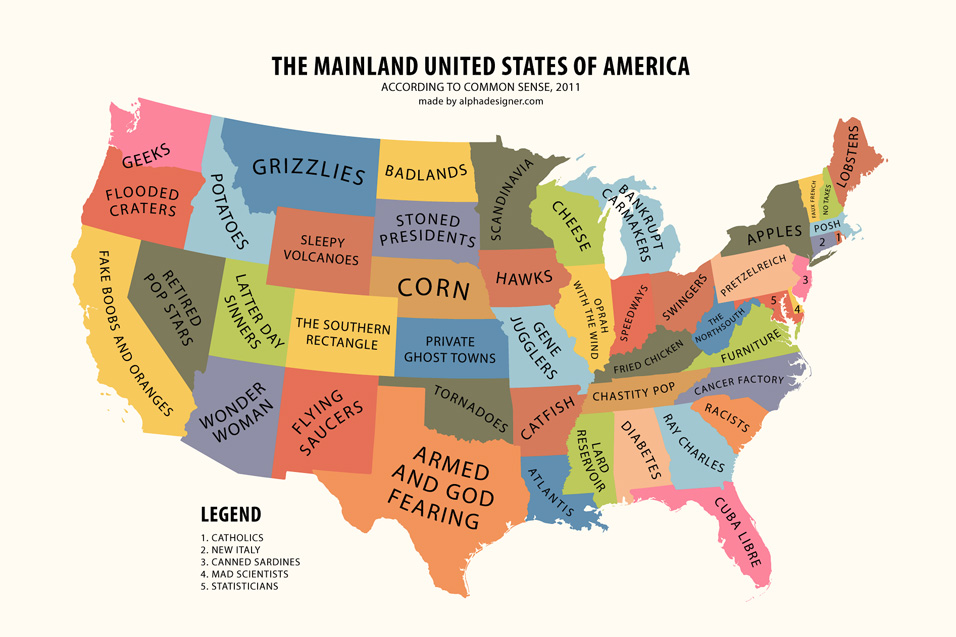 Image result for USA funny map