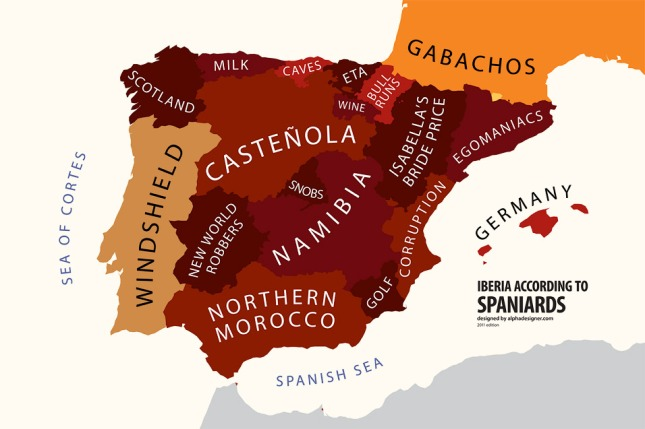 Iberia according to Spaniards