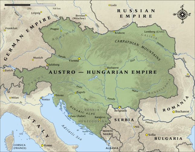 Austro-Hungarian Empire, 1914